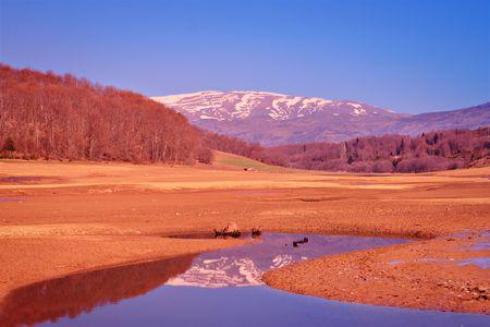 Landscape from Mavrovo region, Macedonia Stock Photo - 929436