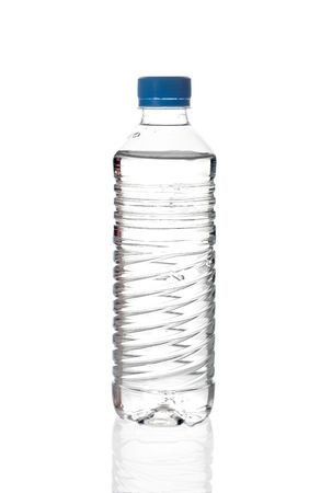 quench: Water bottle against white background