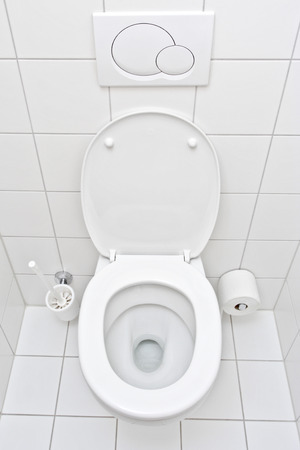 View of a toilet Stock Photo - 1480798