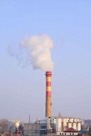 Factory chimney Stock Photo - 2305492