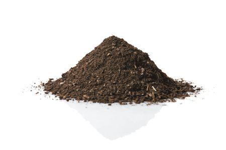 soil: Pile del suolo Archivio Fotografico