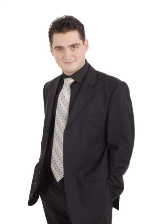 Attractive adult in a suit Stock Photo - 2638512