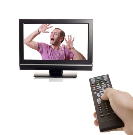 Don't change that channel Stock Photo - 2739385