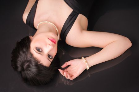 Glamour portrait of an attractive female Stock Photo - 2766749