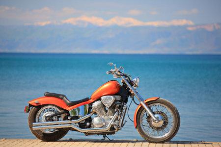 outside machines: Motorbike