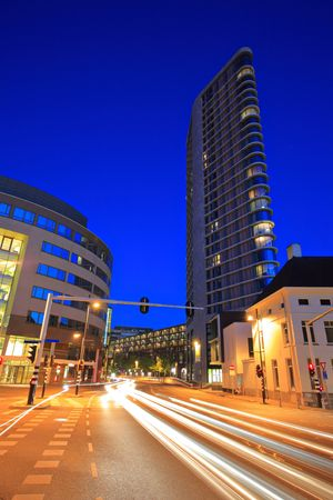 eindhoven: Downtown Eindhoven at night