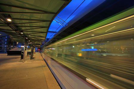 rotterdam: Rotterdam Blaak tram station