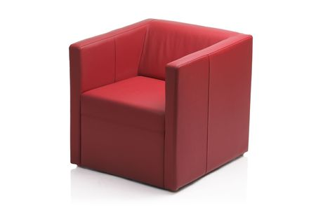 Image of a modern leather armchair Stock Photo - 3903012