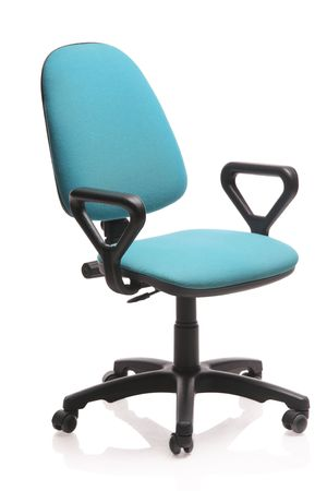 Image of an office chair isolated against white background Stock Photo - 3903014