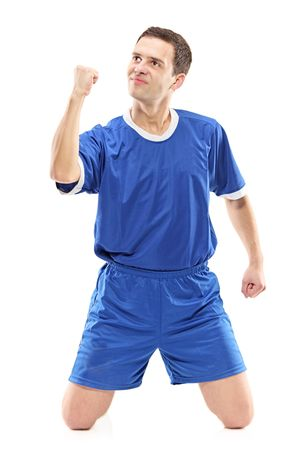 sports gear: I am the champion Stock Photo