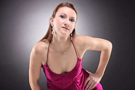 A young fashionable female posing Stock Photo - 6707732