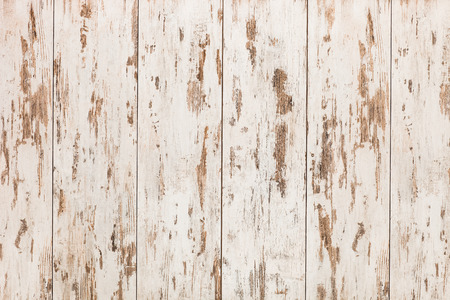 high angle shot: Vintage white wooden floor, top view
