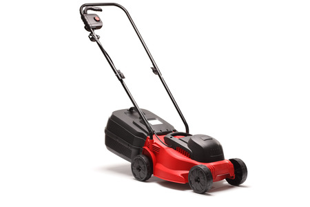 Lawn mower isolated on white background Reklamní fotografie - 55251126