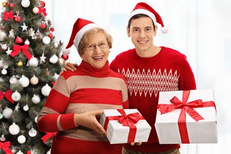 Mature and his christmas present