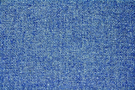 Blue background  Made from woven fibers  photo
