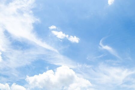 Blue sky with cloud,summer sky,nature background.