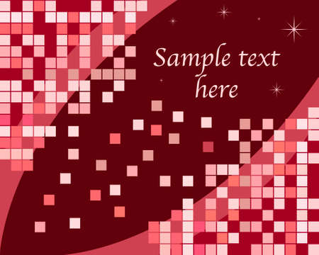 Red retro background Vector