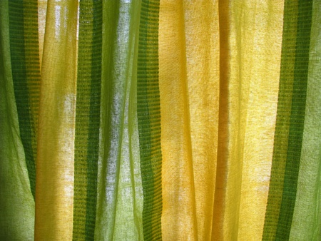 curtain fabric as texture photo