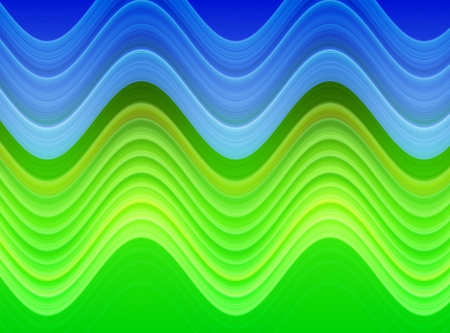 design of abstrcat green and blue wavy patterns as  background and texture Stock Photo - 17169168