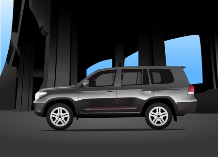 sport utility vehicle: Sport utility vehicle car