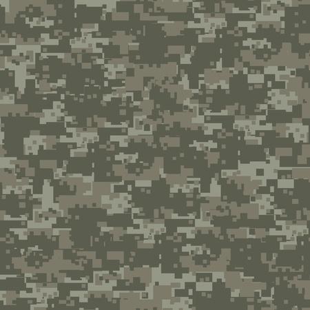 軍事森シームレスな迷彩  イラスト・ベクター素材