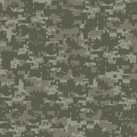 Military woods camouflage seamless pattern  Vector
