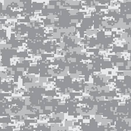 Military desert camouflage seamless pattern  Stock Photo