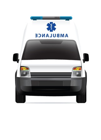Ambulance car vector illustration illustration