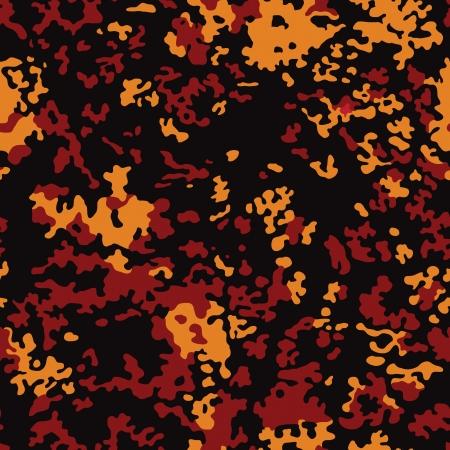 クリスマス暖炉色染色のシームレスなパターン  イラスト・ベクター素材