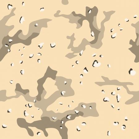米国軍事砂漠迷彩のシームレスなパターン