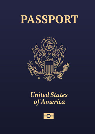 US passport image.