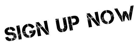 Inscription rubber stamp Maintenant noir sur blanc. Imprimer, impressionner, overprint. Vecteurs