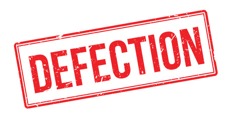 unauthorised: Defection rubber stamp on white. Print, impress, overprint.
