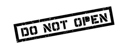 Do not open rubber stamp on white. Print, impress, overprint. Illustration
