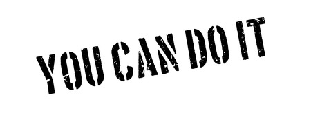 can yes you can: You can do it rubber stamp on white. Print, impress, overprint. Illustration