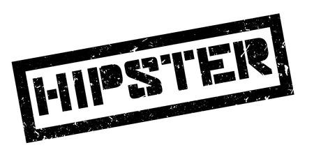 liberal: Hipster rubber stamp on white. Print, impress, overprint. Illustration