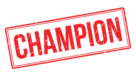 finalist: Champion rubber stamp on white. Print, impress, overprint. Sign of highest achievement, medalist person. The greatest in the field. Sign of acknowledgement and congratulations. The winner sign.