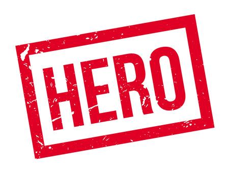 medalist: Hero rubber stamp on white. Print, impress, overprint.
