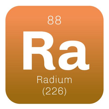 Radium is a chemical element. Radium is an alkaline earth metal. Pure radium is silver white.