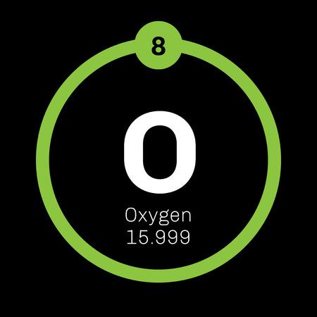 Oxgeno elemento qumico agente oxidante y no metal altamente qumico agente oxidante y no metal altamente reactivo icono de color con el nmero atmico y el peso atmico elemento qumico de la tabla peridica urtaz Image collections