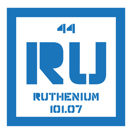 rare: Ruthenium is a chemical element. Rare transition metal. Belongs to the platinum group of the periodic table.