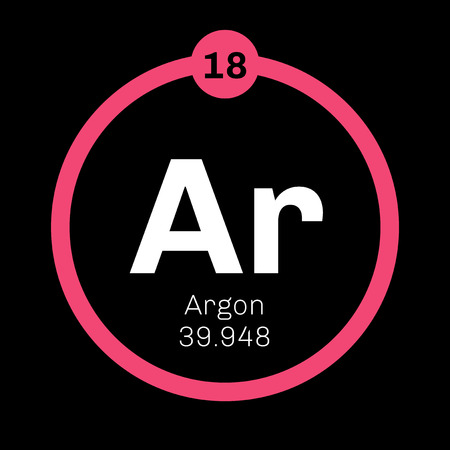Argon is a chemical element. Belongs to noble gases group of the periodic table. Neon is a colorless, odorless and inert gas.