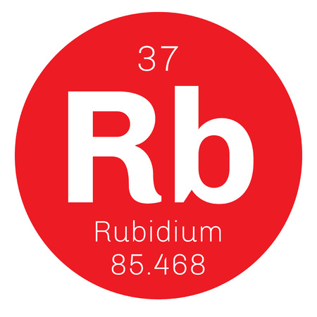 alkali metal: Rubidium is a chemical element. Soft, silver white element of the alkali metal group. Slightly radioactive. Illustration