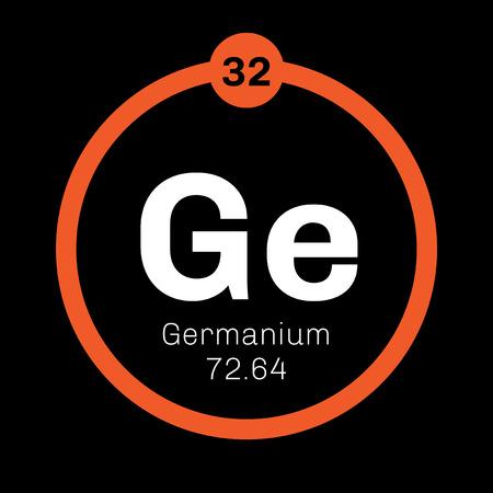 Elemento qumico germanio metaloide en el grupo de carbono un tabla peridica elemento qumico germanio metaloide en el grupo de carbono un semiconductor icono de urtaz Gallery