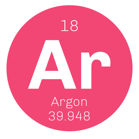 affinity: Argon is a chemical element. Belongs to noble gases group of the periodic table. Neon is a colorless, odorless and inert gas.