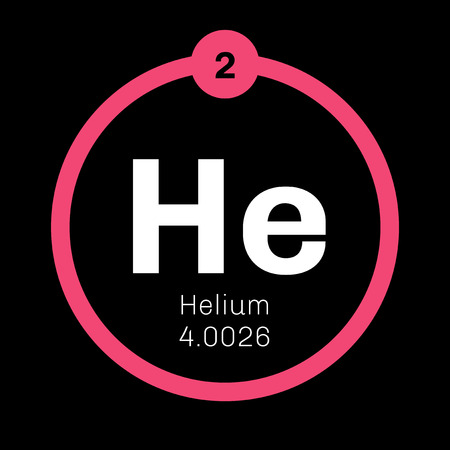 belongs: Helium chemical element. Helium is a colorless, odorless, tasteless, non-toxic gas, belongs to the noble gas group of the periodic table.