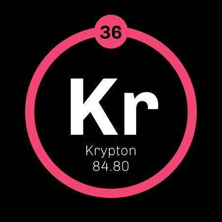 belongs: Krypton is a chemical element. Belongs to noble gases group of the periodic table. Neon is a colorless, odorless and inert gas.