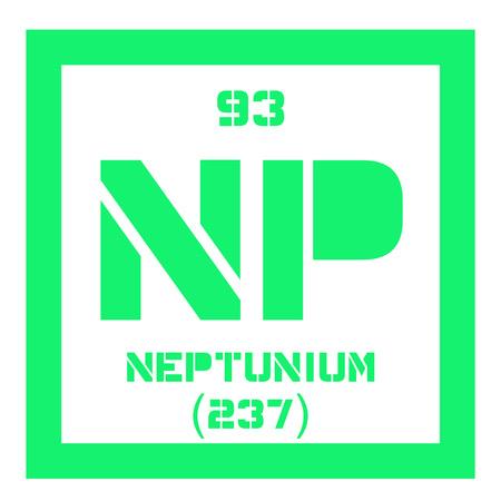Roentgenio elemento qumico elemento sinttico extremadamente elemento qumico neptunio elemento sinttico icono de color con el nmero atmico y el urtaz Choice Image