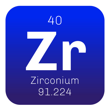 Zirconium Chemical Element Zirconium Is A Transition Metal