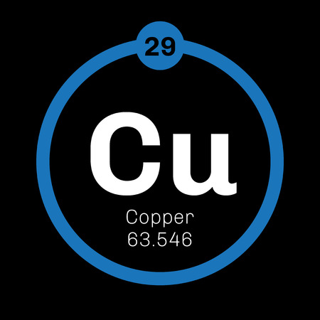 conductivity: Copper chemical element. Soft metal with high thermal and electrical conductivity.